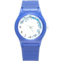 Water Swirl Plastic Sport Watch (Small)