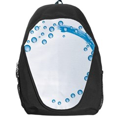 Water Swirl Backpack Bag