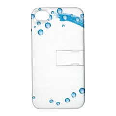 Water Swirl Apple Iphone 4/4s Hardshell Case With Stand