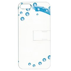 Water Swirl Apple iPhone 5 Hardshell Case with Stand
