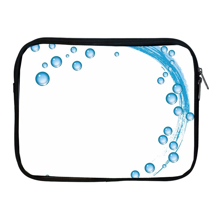 Water Swirl Apple iPad 2/3/4 Zipper Case