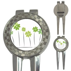 Clover Golf Pitchfork & Ball Marker