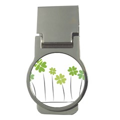 Clover Money Clip (round)