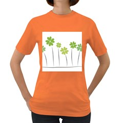 clover Womens' T-shirt (Colored)