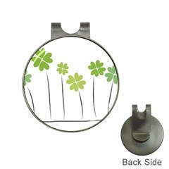 Clover Hat Clip With Golf Ball Marker