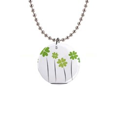 clover Button Necklace
