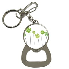 clover Bottle Opener Key Chain