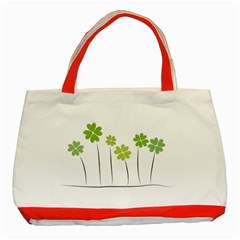 clover Classic Tote Bag (Red)