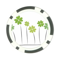 clover Poker Chip