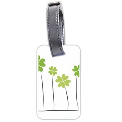 Clover Luggage Tag (one Side)