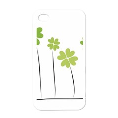Clover Apple Iphone 4 Case (white)