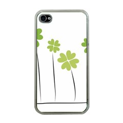 clover Apple iPhone 4 Case (Clear)