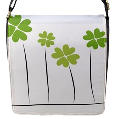 clover Flap closure messenger bag (Small)