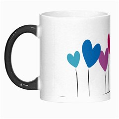 Heart Flowers Morph Mug