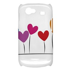 Heart flowers Samsung Galaxy Nexus S i9020 Hardshell Case