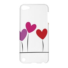 Heart Flowers Apple Ipod Touch 5 Hardshell Case