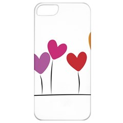 Heart flowers Apple iPhone 5 Classic Hardshell Case