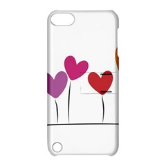 Heart flowers Apple iPod Touch 5 Hardshell Case with Stand