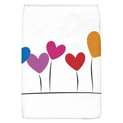 Heart Flowers Removable Flap Cover (large)