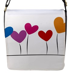 Heart flowers Removable Flap Cover (Small)