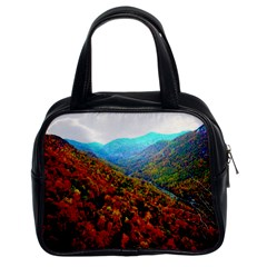 Through The Mountains Classic Handbag (Two Sides)