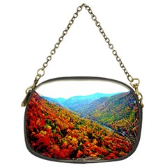Through The Mountains Chain Purse (Two Side)