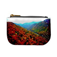 Through The Mountains Coin Change Purse