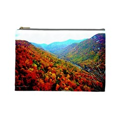 Through The Mountains Cosmetic Bag (Large)