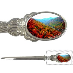 Through The Mountains Letter Opener