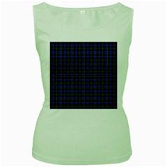 Macneil Tartan - 1 Womens  Tank Top (Green)