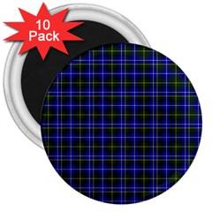 Macneil Tartan   1 3  Button Magnet (10 Pack)
