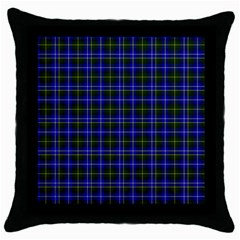 Macneil Tartan - 1 Black Throw Pillow Case
