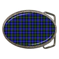 Macneil Tartan - 1 Belt Buckle (Oval)