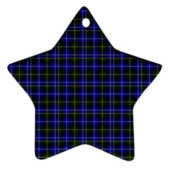 Macneil Tartan - 1 Star Ornament (Two Sides)