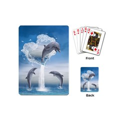 The Heart Of The Dolphins Playing Cards (Mini)