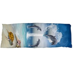 The Heart Of The Dolphins Body Pillow Case (Dakimakura)