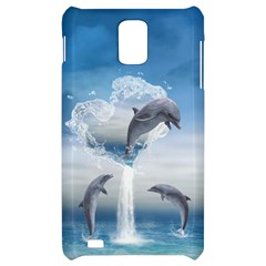 The Heart Of The Dolphins Samsung Infuse 4G Hardshell Case