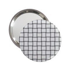 White Weave Handbag Mirror (2 25 )
