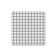 White Weave Magnet (Square)