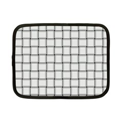 White Weave Netbook Case (Small)