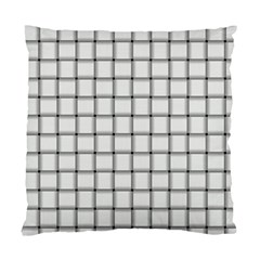 White Weave Cushion Case (two Sides)
