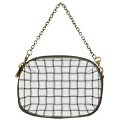White Weave Chain Purse (Two Side)
