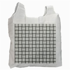White Weave Recycle Bag (Two Sides)