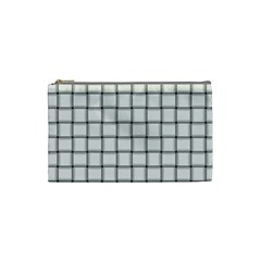White Weave Cosmetic Bag (small)