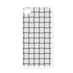 White Weave Apple iPhone 4 Case (White)