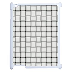 White Weave Apple Ipad 2 Case (white)