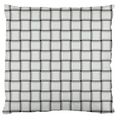 White Weave Large Cushion Case (One Side)