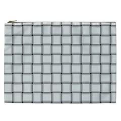 White Weave Cosmetic Bag (XXL)