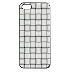 White Weave Apple iPhone 5 Seamless Case (Black)