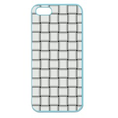 White Weave Apple Seamless iPhone 5 Case (Color)